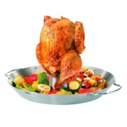 Grill de poulet et wok de...